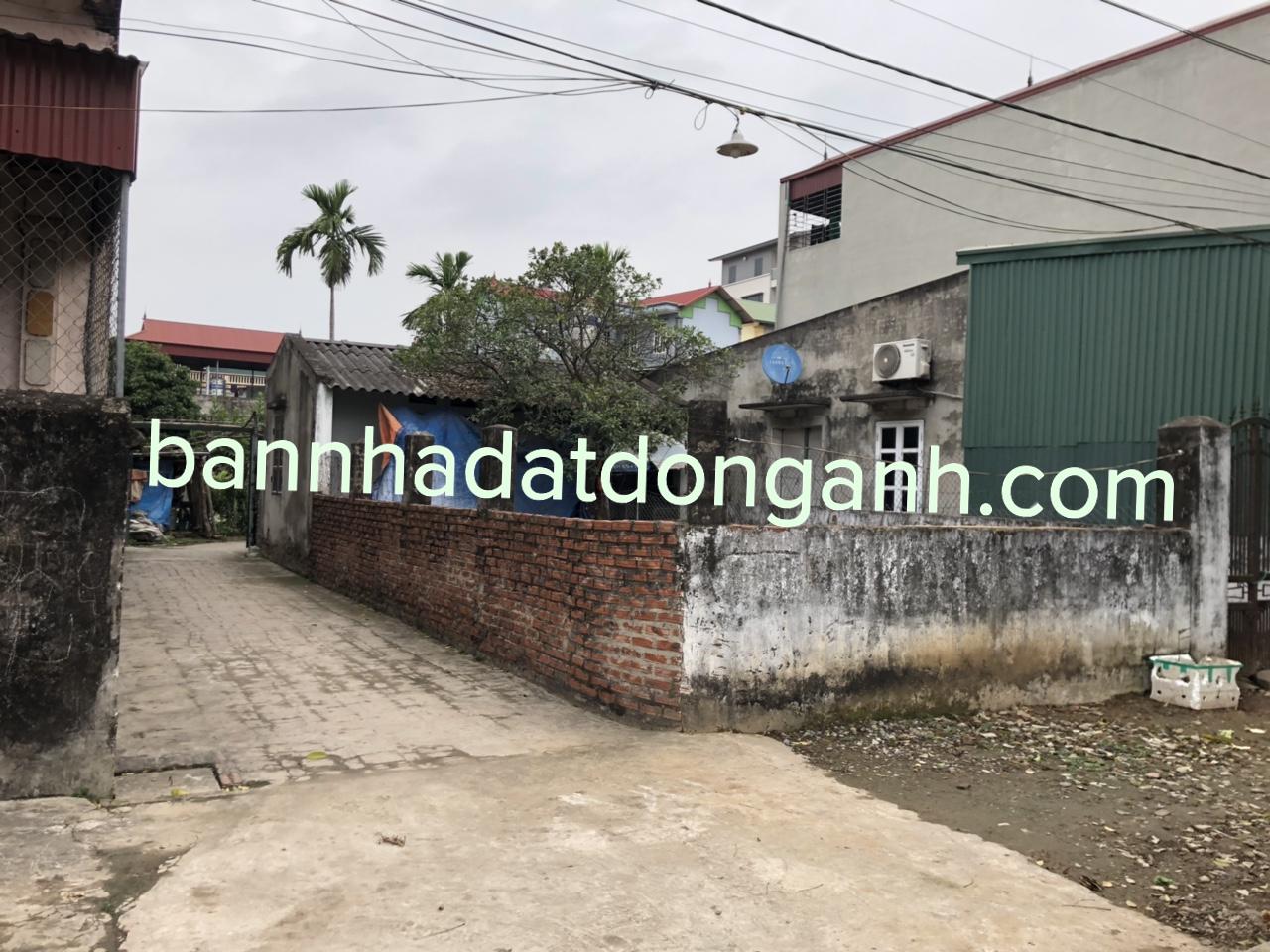 Chính chủ bán lô đất ven làng khu chợ rau mới Vân Trì Đông Anh