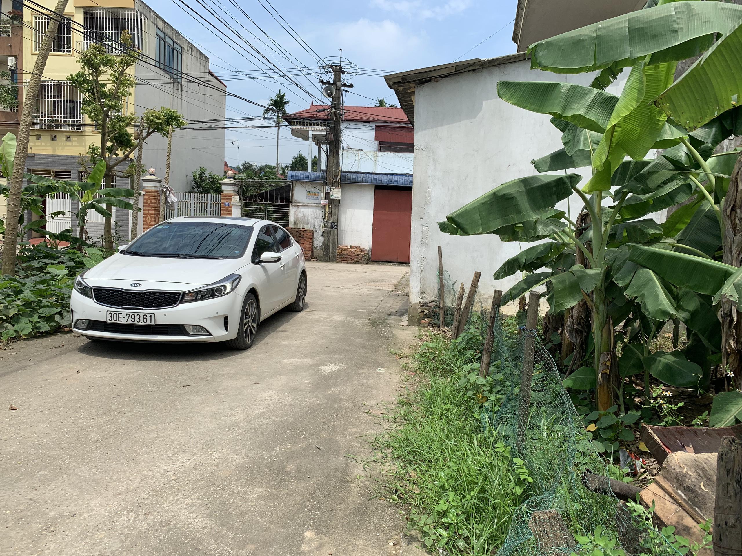 Bán nhanh lô đất 126m, 2 mặt đường trước sau giá đầu tư tại Thôn Tiên Hùng- Nguyên Khê- Đông Anh