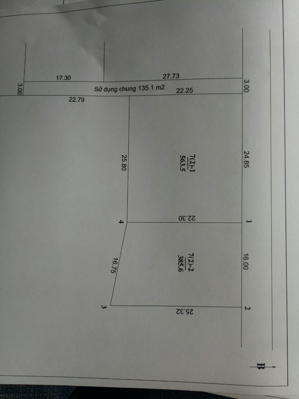 Cần bán đất diện tích 385.6m2