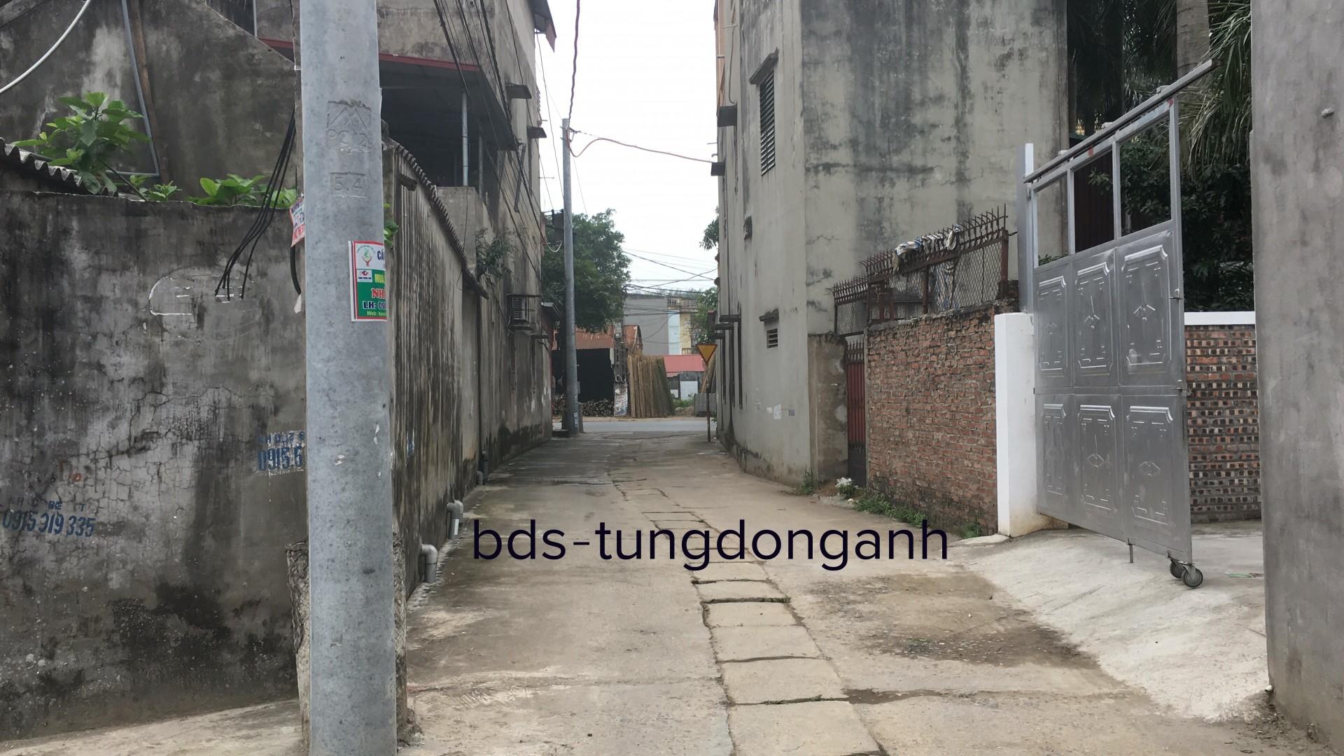 Bán 166m đất xóm Nhì Vân Trì Đông Anh cách đường 23b khoảng 50m
