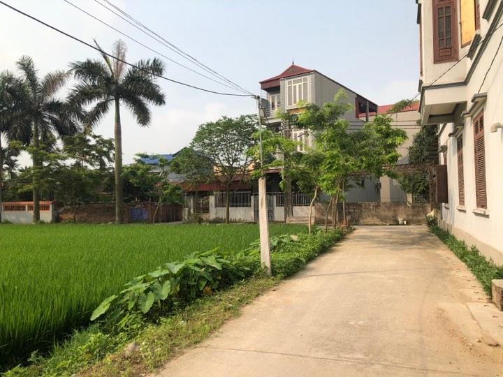 Bán đất Đường Yên( Kim Con) Xuân Nộn, Đông Anh  ô tô vào tận nơi,ngõ thông ra vỏ làng giá chỉ 650tr