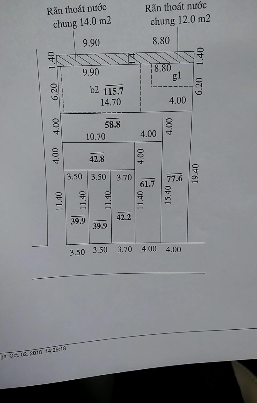 Bán đất chia nhỏ trung tâm thị trấn Đông Anh giá đầu tư