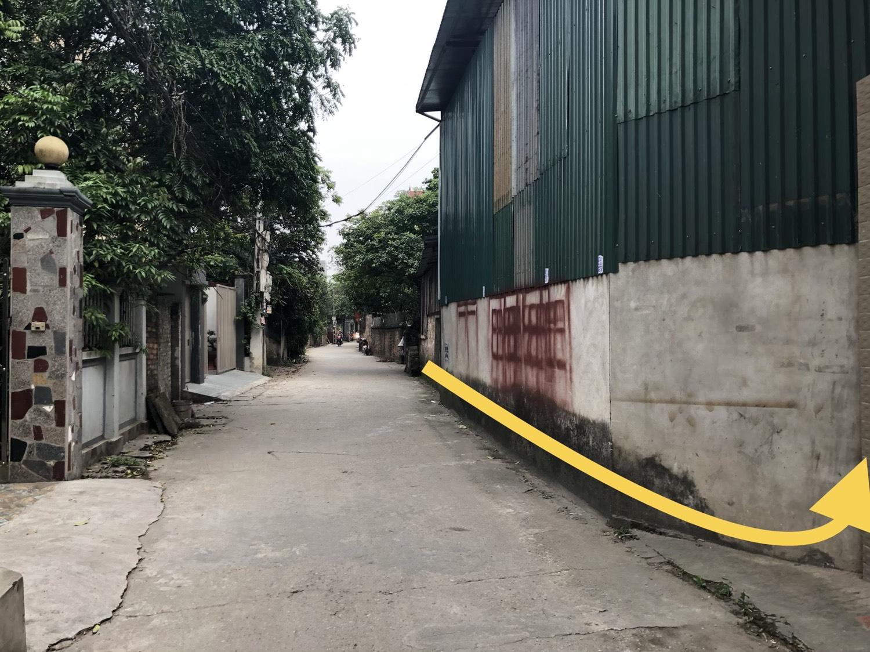 Bán 80m đất thôn Đoài xã Việt Hùng Đông Anh giá rẻ