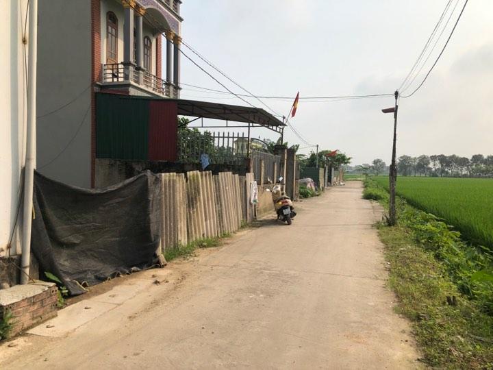Bán đất siêu đẹp 62m2 ngõ thông ô tô đỗ cửa thôn Đường Yên, Xuân Nộn, Đông Anh giá 650tr