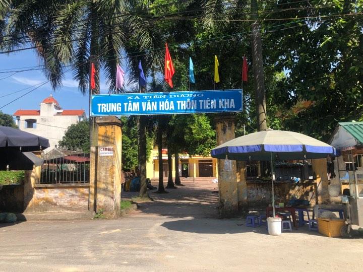 Bán mảnh đất 2 mặt ngõ  đầu thôn Tiên Kha, Tiên Dương 101m ô tô đỗ cửa giá 29tr/m2