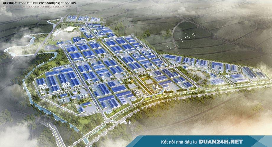 Huyện Sóc Sơn thu hồi hơn 346 ha đất trong năm 2021