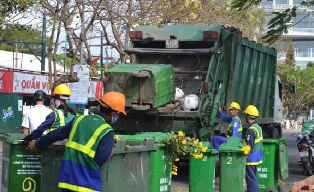 rác thải huyện đông anh